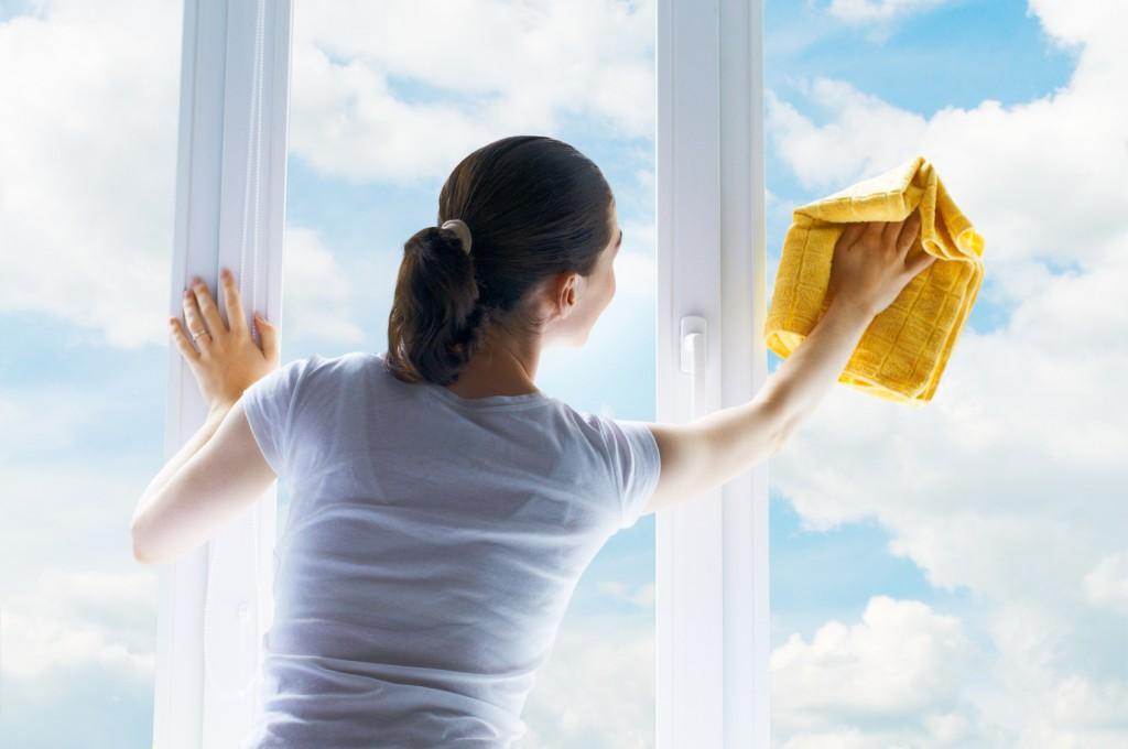 comment nettoyer vitres miroirs